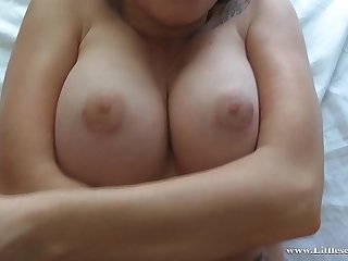 I woke up my stepmother and his flannel got really hard!  He squeezed my tits and gave me a deep creampie!!