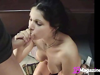 Busty Young Be absent from Kylie Teen Blows A Dick & Gets That Jizz!