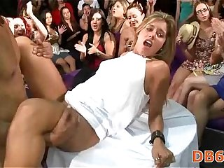 College girl gets fucked while