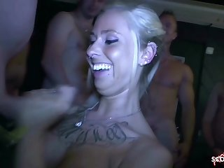 Real Amateur Porn German Gangbang for Skinny 18 Years Ancient Anni Angel - anni angel