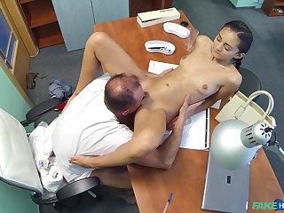 Horny doctor bangs his skinny amateur patient Shrima Malati