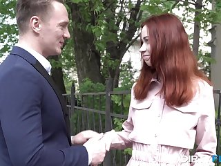 Russian teen redhead Leisure pool Blaze likes to have sexual intercourse